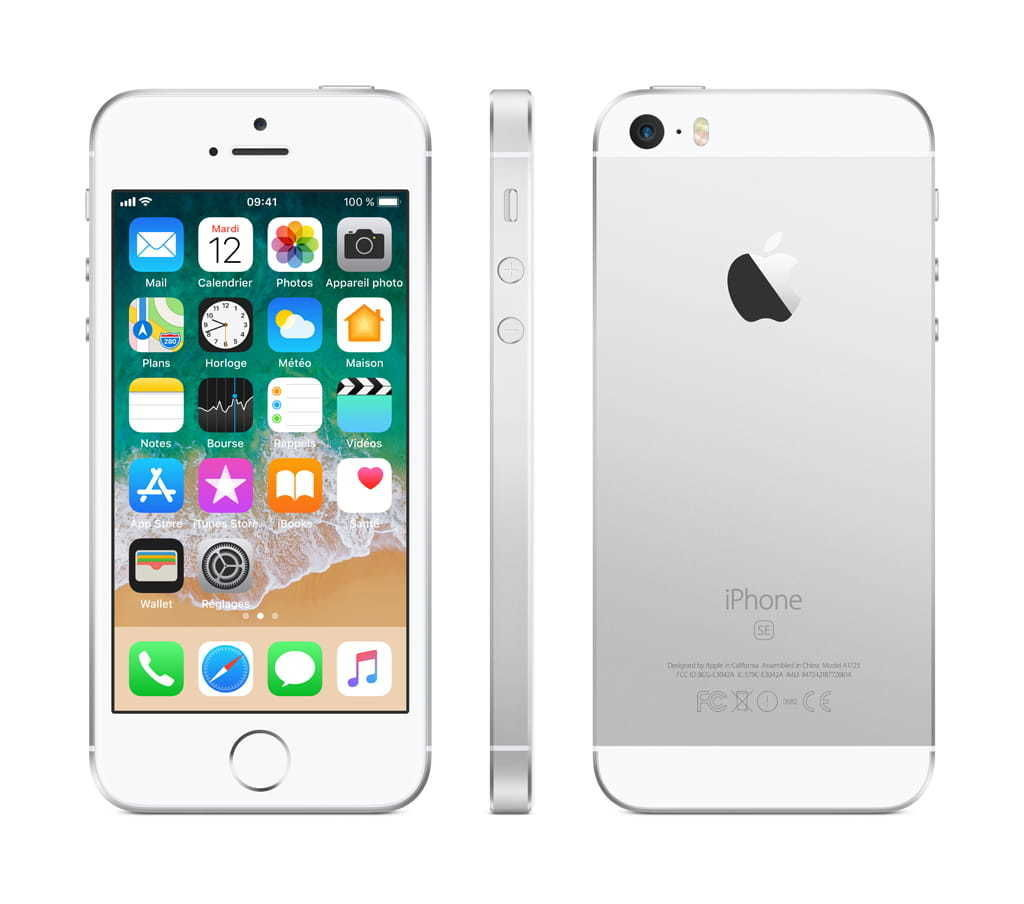 iPhone SE - 32 Go - MP832F/A - Argent