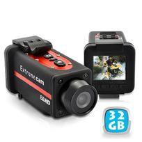 Yonis - Caméra sport Full Hd 1080p grand angle étanche 32 Go