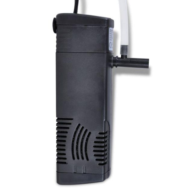 Icaverne - Filtres et pompes d'aquarium gamme Filtre interne aquarium avec pompe 300 l/h filtration