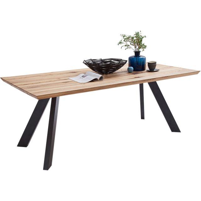 COMFORIUM manger en salle de bois Table massif design à Rq5AcS4L3j