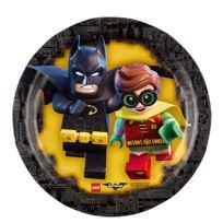 Amscan - Assiettes à Dessert : Lego Batman x8