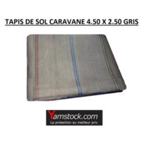Reimo - Tapis de sol Caravane, Camping car, Arisol Pvc 4.50X 2.5m Gris