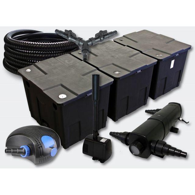 Aqua Occaz Kit filtration complet 24W + fontaine pour bassins de 50000  litres 887dbeff91b1