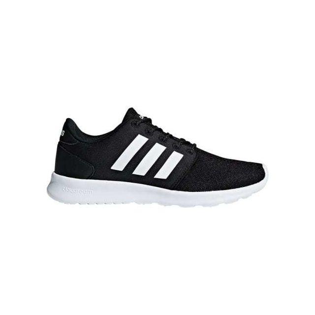 Adidas Chaussures neo Cloudfoam Qt Racer noir blanc femme