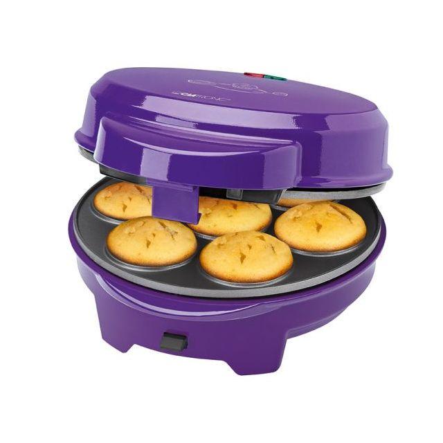 Clatronic Donut-Muffin-Cake Pop Maker Dmc 3533 violet 3 en1
