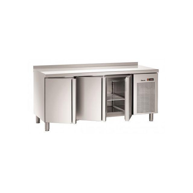 BARTSCHER Table réfrigérée positive - Inox 3 portes 700