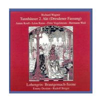 Preiser - Wagner : Tannhäuser 2. Akt/Lohengrin Brautgemach-Szene. Rains, Vogelstrom, Krull, Destinn, Berger