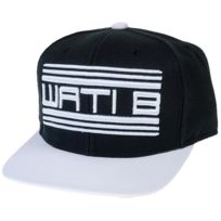 Wati B - Casquette Basic logo nr/blc cap jr Noir 21698