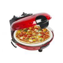 Bestron - Four à Pizza Unique ! - Fenêtre de contrôle - Température Haute et Basse Ajustable