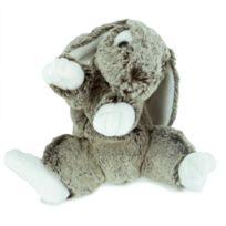 Soft Friends - Peluche Lapin 22 cm : Gris