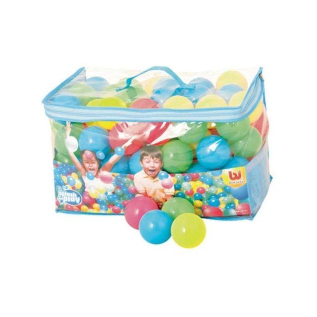 100 balles rebondissantes Splash and Play - D 6,5 cm