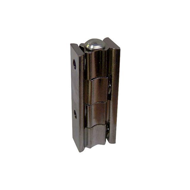 Charni re universelle inox pour meuble x mm vendu par leroy merlin 645372 - Leroy merlin charniere ...