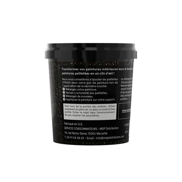 Additif paillettes pour peinture Maison Déco Strass argent 25 g 0cm x 0cm