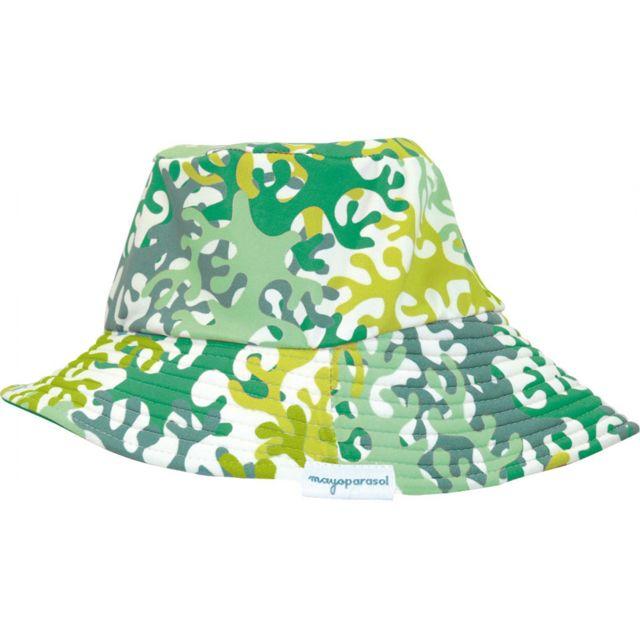 Mayoparasol - Camouflage Mayo Parasol Chapeau anti Uv Vert - pas ... b8755ce6c0a