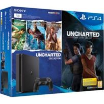 Pack PS4 1 To Black + Uncharted The Lost Legacy + Uncharted Collection