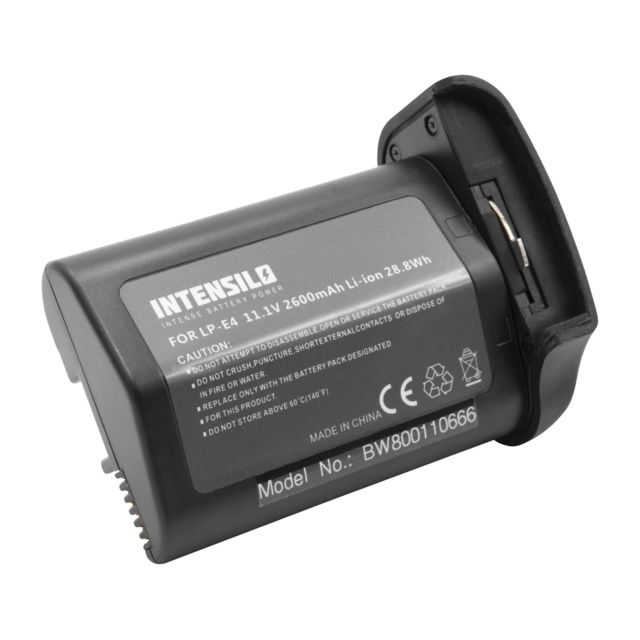 2x cámara batería intensilo 2000mah para Canon EOS 60 D 70d 80d 60da