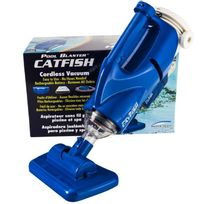 Provence Outillage - Aspirateur piscine hors sol à batterie Catfish