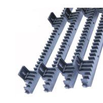 CAME - Crémaillère métallique plastifiée 4m - Noir - Compatible toutes marques
