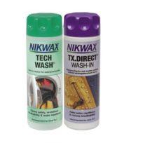 Nikwax - Twin Pack Lessive Tech Wash et imperméabilisant Tx. Direct
