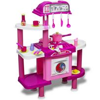 Rocambolesk - Superbe Cuisine-jouet grande pour enfants avec effets lumineux/sonores neuf