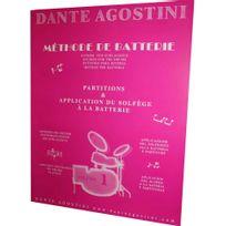 Agostini - Méthode de Batterie Vol.1 - Application du solfège à la batterie