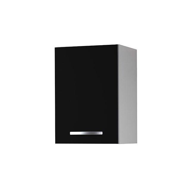 Meuble haut L40xH58xP36cm - noir