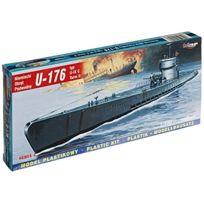 Mirage Hobby - 40 41, 1: 400 ÉCHELLE, U-176 U-type Ix C Turm Ii Sous-marin Allemand, Kit De ModÈLE En Plastique