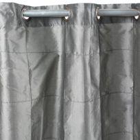 MonbeauRideau - Rideau William 150x250cm, Gris • Taffetas polyester
