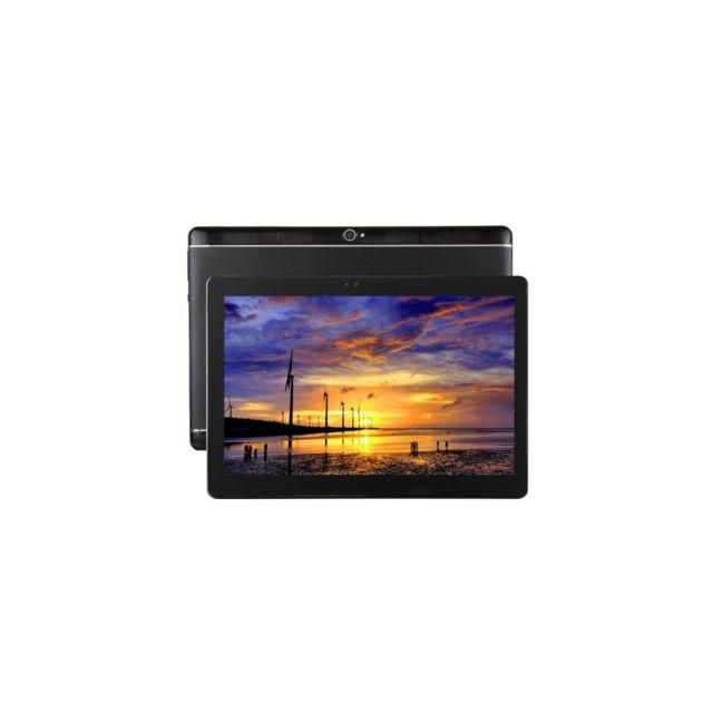 Auto-hightech Tablette Pc 10.1 pouces, 2Go+32Go, Android 6.0 Quad Core A53 64octets 1.3GHz, Otg, WiFi, Bluetooth, Gps noir