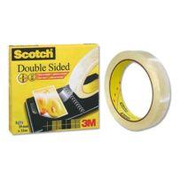 Scotch - Rouleau d'adhésif double face - 33 m x19 mm