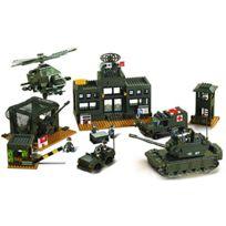 Sluban Europe - Jeu De Construction - Serie Armee - Nouvelle Version - Quartier General De L Armee - Sluban M38-B7100