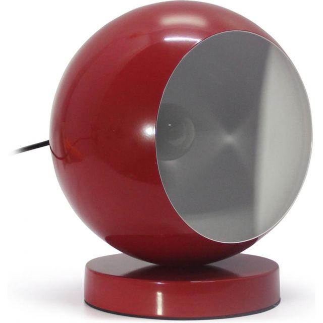 Boule Lampe Rouge Chevet Privatefloor Achat Vente Cher Pas De l13TFKcJ