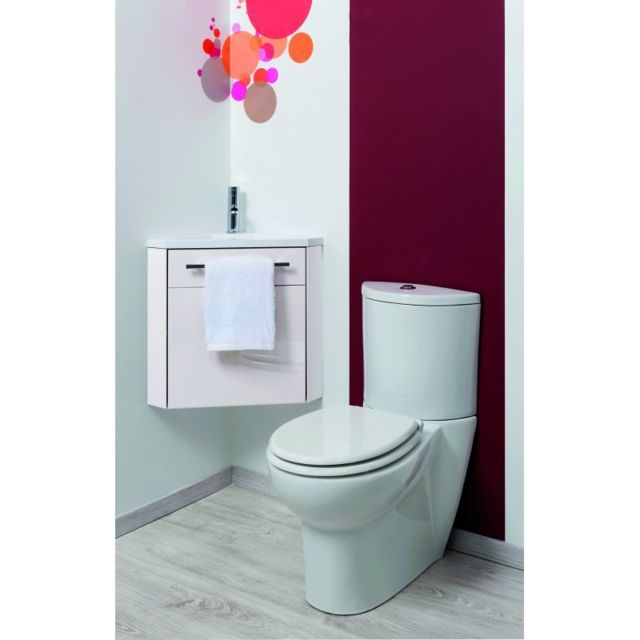 Degeo - Lave Main D\'ANGLE Nino Blanc - pas cher Achat / Vente meuble ...