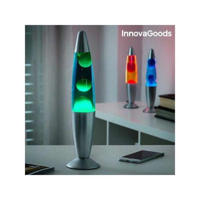 marque inconnue lampe de lave magma innovagoods pas. Black Bedroom Furniture Sets. Home Design Ideas
