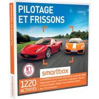 Smartbox - Pilotage et frissons - 1220 activités : un stage jusqu'à 6 tours : Ferrari F458, Lamborghini, Maserati - Coffret Cadeau