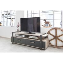 Meuble Tv De Style Industriel Brooklyn