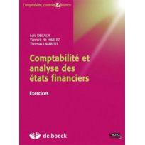 De Boeck Superieur - comptabilité et analyse des états financiers 3e édition