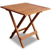 Casasmart - Table basse en acacia pour extérieur
