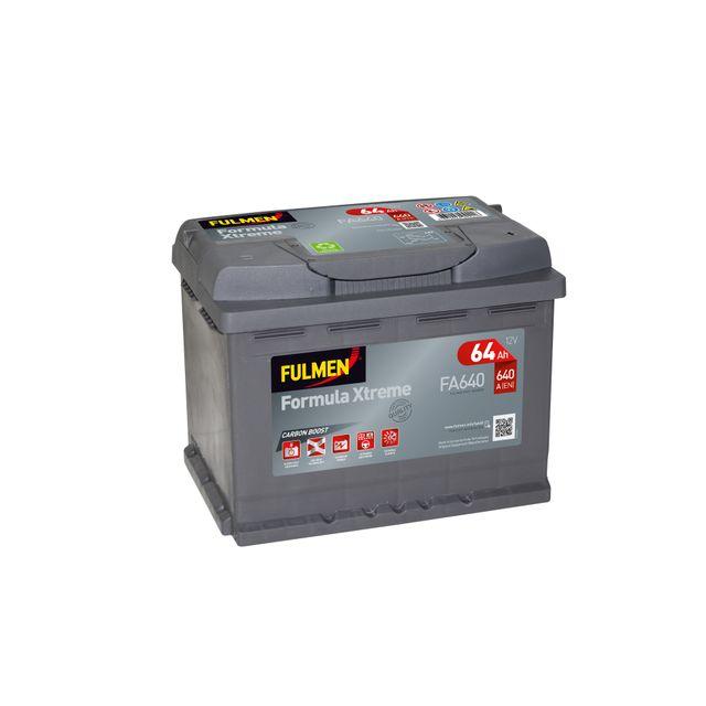 fulmen batterie formula xtreme fa640 pas cher achat vente batteries rueducommerce. Black Bedroom Furniture Sets. Home Design Ideas
