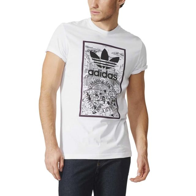 adidas originals homme tee shirt