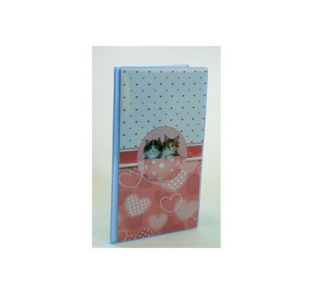 ARIANE - Album photo souple chatons 64 pochettes 10x15 cm