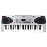 Mcgrey - Lk-5430 Clavier avec 54 Notes, Touches Lumineuses, Pupitre Support de Notes et Microphone