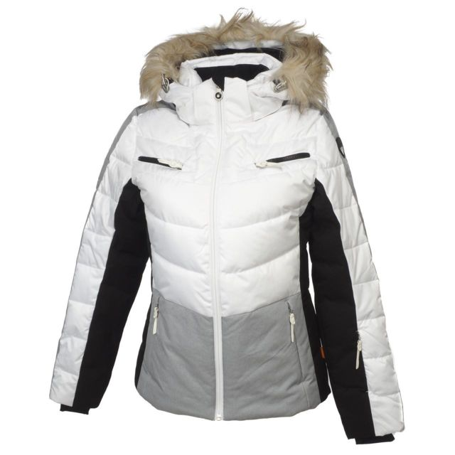 shop best authentic quality design Ice Peak - Blouson de ski Icepeak Cathy blanc jacket l Blanc ...