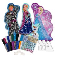 Orb Factory - Mosaïque Sticky Mosaics : La Reine des Neiges Frozen, : Maxi Kit