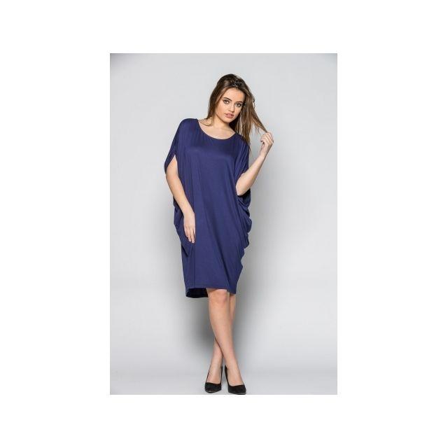 553eca678574e Princesse Boutique - Robe fluide Bleu ample dos nu - pas cher Achat ...