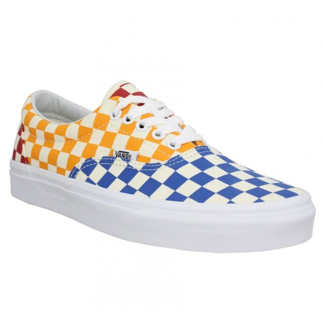 12ad4b276fb Vans - Era Checkerboard toile Homme-43-Multi - pas cher Achat   Vente  Baskets homme - RueDuCommerce