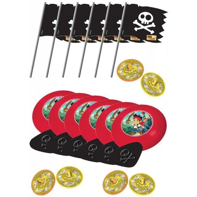 Amscan - Jouets Jake et les pirates x24