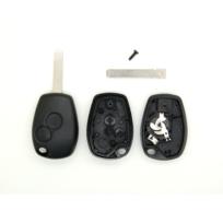 Coque pour clé télécommande 2 boutons Clio Kangoo Twingo Trafic