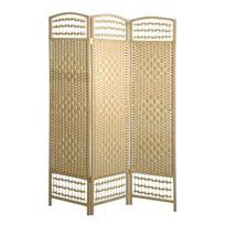 Marque Generique - Paravent 3 panneaux en bois de Peuplier - L120xP2xH170cm - Bettina
