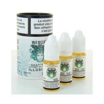 Illustria - Medusa 3x10ml - Illusions vapor - 0 mg / 10ml- Genre : 0 mg